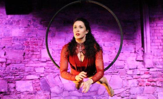In a Hoop at Backstage
