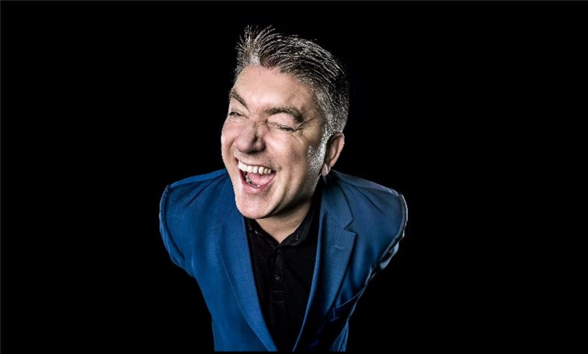 Pat Shortt at backstage