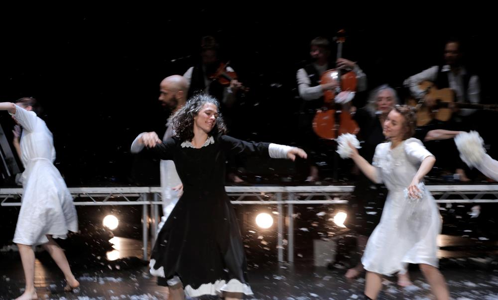 SWAN LAKE LOCH na hEALA by michael keegan dolan teac damsa at Backstage Theatre