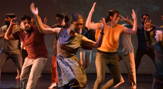 Welcoming the Stranger by Catherine Young Dance in assoc with Backstage Theatre Photo Doug Fox-Roberts